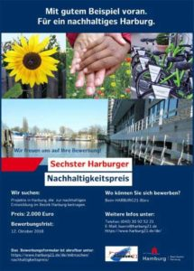 Plakat Nachhaltigkeitspreis 2018