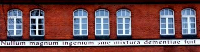 nullum magnum ingenium sine mixtura dementiae fuit